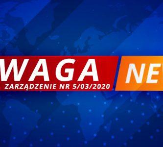 Zarządzenie nr 5/03/2020 Dyrektora Medycznej Szkoły Policealnej w Kłodzku oraz Szkoły Policealnej MEDYK